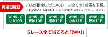 WIN5を知ろう! JRA